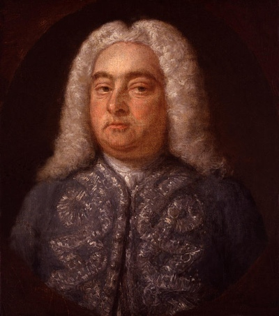 George Frederic Handel (PD-Art)
