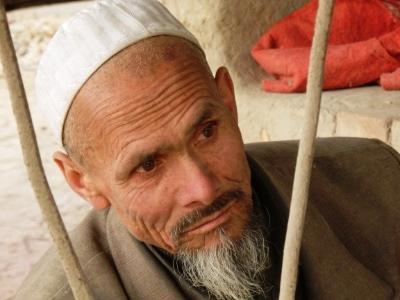 A Uyghur man.