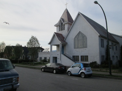 St. David of Wales in East Vancouver stopped operating as a church earlier this year.