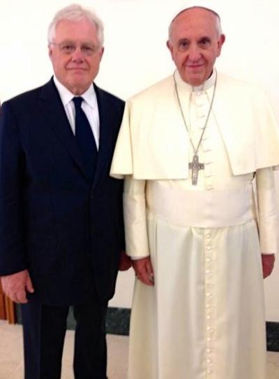 Brian-Stiller-and-Pope-Francisinside