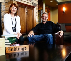 Monika Hilder and Stephen Dunning lead the Inklings Institute of Canada.