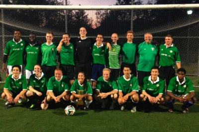 New Life won Division 2 of the BC Christian Soccer League last Friday night.