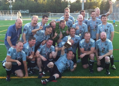 North Shore Alliance won Division 1 in the BC Christian Soccer League in 2013.
