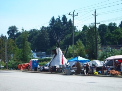 Dignity Village in Abbotsford.