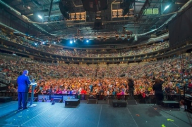 The Greater Toronto Festival of Hope took place September 12-14, 2014 at the Air Canada Centre.