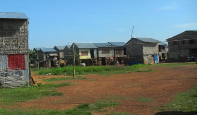 Oudong Village has been built from nothing, north of Phnom Penh.
