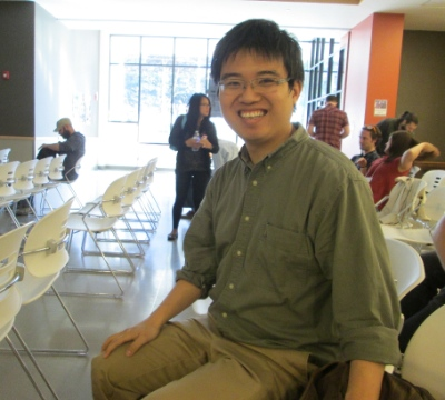 Justin Tse is an expert on the Chinese Christian community up and down the west coast. This picture was taken at the recent Christ & Culture Conference, where he was a presenter.