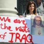 iraqiwomanandsignfront