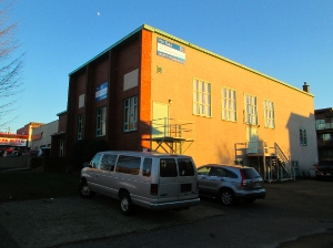 The Salvation Army has this building at 1st and Commercial for sale right now.