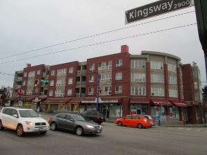 Formerly: Apostolic Faith Church; now: apartment block.