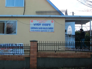 Formerly: St. Luke's Anglican Church; now Gurdwara Sahib Khalsa Darbar.