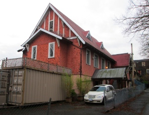 Formerly: Basel Hakka Lutheran Chruch; now: housing.