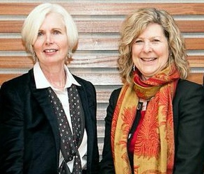 Aileen Van Ginkel (left), vice president of ministry services for the Evangelical Fellowship of Canada, and Karen Hamilton, general secretary of the Canadian Council of Churches, are on the steering committee for the Our Whole Society conference.
