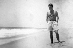 Malcolm Lowry lived in the West End and the North Shore. Photo: Special Collections, UBC Library