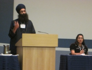 Balpreet Singh, legal counsel for the World Sikh Organization of Canada, pointed out that Sikh founder Guru Nanak was killed for standing up for human rights.