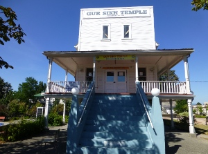 The oldest surviving Sikh temple in North America was built in Abbotsford in 1911.
