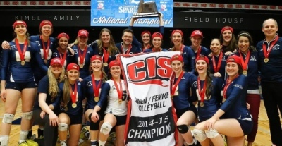 The TWU women's volleyball team won the Canadian university championships for the first time last weekend.