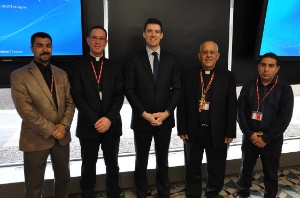 Andrew Bennett with leaders of religious minority communities of Iraq and Syria last fall.