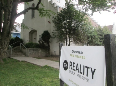 Reality Church is now settled into this building owned by the Anglican Church at the corner of 19th and *** ****,