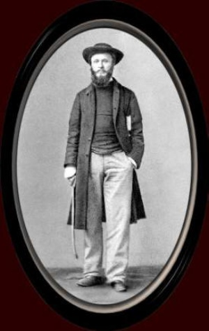 Rev. John Sheepshanks was the first minister of St. Mary, Sapperton. Photo courtesy of Wikemedia Commons.