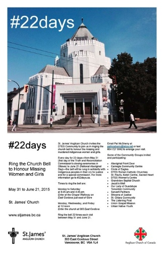 #22days at St. James1