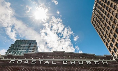 Coastal Church has taken advantage of the airspace above its building.