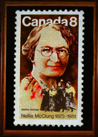 Nellie McClung is best known as an activist for women's rights, and as a novelist.