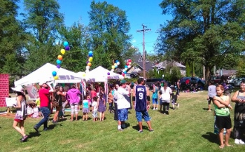 Hundreds of neighbours joined New Beginnings Baptist Church for their Praise in the Park gathering June 14.