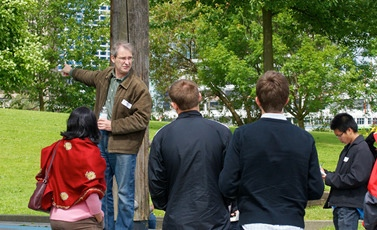 UBC urban geography professor David Ley will lead a Postmodern Urban Tour this weekend.