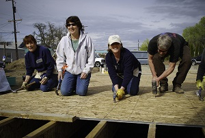 CityServe volunteers have taken on a wide range of projects in Portland since 2008. Photo supplied by CityServe.