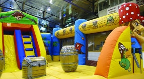 The Kerrisdale Play Palace is a giant, indoor playground located in the Kerrisdale Cyclone Taylor Arena.