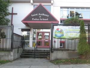 St. Anthony of Padua Catholic Church operates a pre-school and a school.