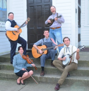 Damon Calderwood (left), Caitriona Murphy, Matthew Simmons, Gordon Roberts, Mack Gordon. Photo by Damon Calderwood.