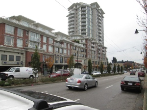 King Edward Village has changed the look of Kingsway where it meets Knight and King Edward.