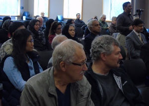 Members of First Baptist joined Muslims at a symposium last week in Richmond.