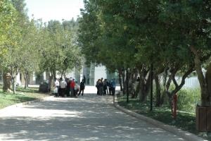 The Avenue of the Righteous Among the Nations at Yad Vashem. Credit: Yad Vashem