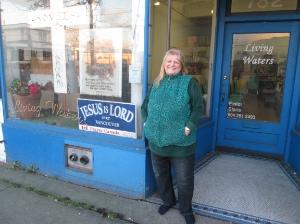 Gloria Kieler has run Living Waters Mission on Hastings Street for 17 years.