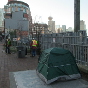 Many people are being force out of their home in the DTES.