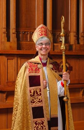 Bishop Melissa Skelton has been in office for two years now.