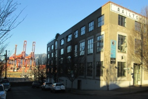 Railtown is one area being gentrified in the DTES.