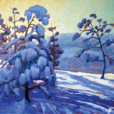 Snow Laden by WL Hibberd.
