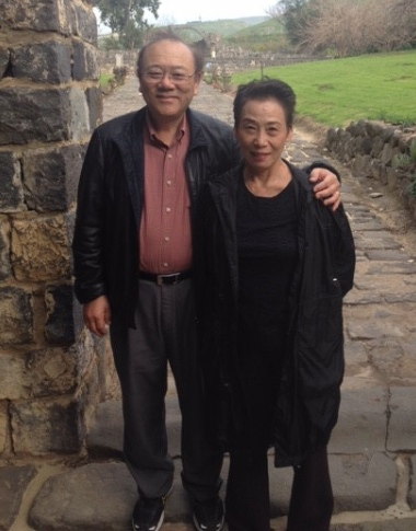 Ying Kai and his wife Grace.