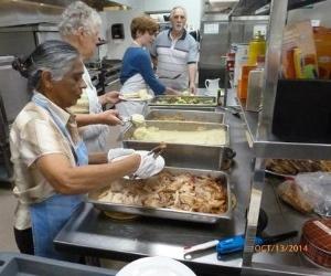 Cloverdale hosts three community dinners each week.