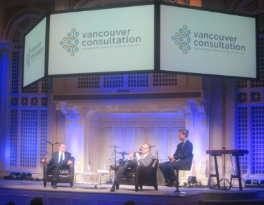 A Catholic-Evangelical Conversation sponsored by the Vancouver Consultation took place at Coastal Church.