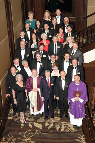 Charter members of Legatus of Vancouver at the Terminal City Club. Photo by Patrick Novecosky.