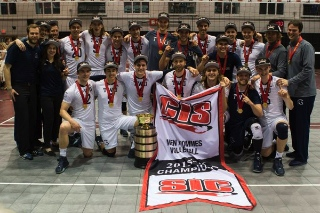 The TWU men's volleyball team won the CIS national championship.