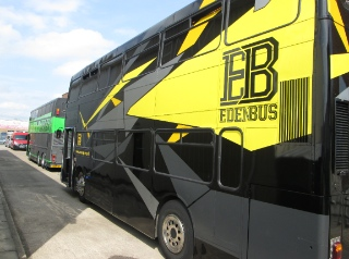 The Eden Buses are mobile youth centres.