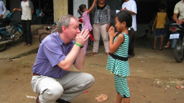 Brian McConaghy created Ratanak International 25 years ago for the good of Cambodian children.