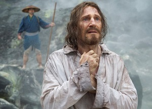 Liam Neeson in Silence, which will come out later this year.