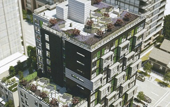New Jubilee House in the downtown core will be home to many low income seniors.
